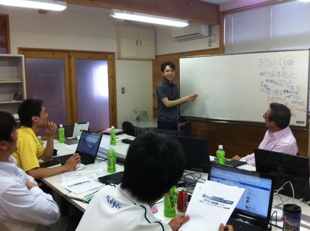 フィットネスクラブA-1にてフェイスブック活用講座を開催