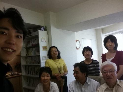 琴寄さん、広野さん、原田ご夫妻、岩本さん、河さんです。
